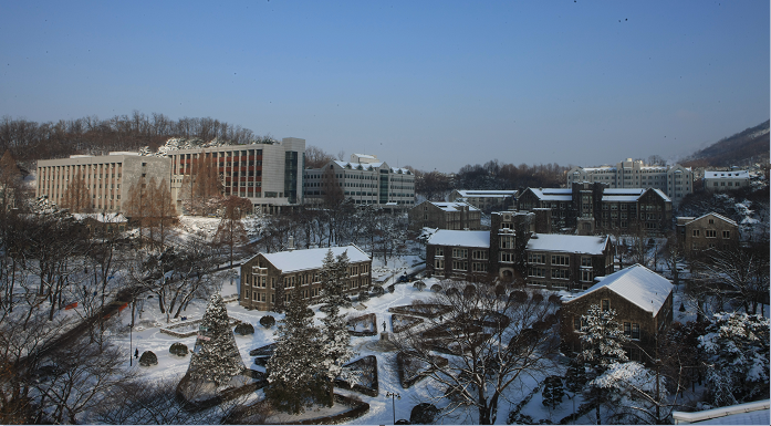 Winter at Yonsei University