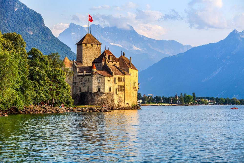 Switzerland - Lake Geneva