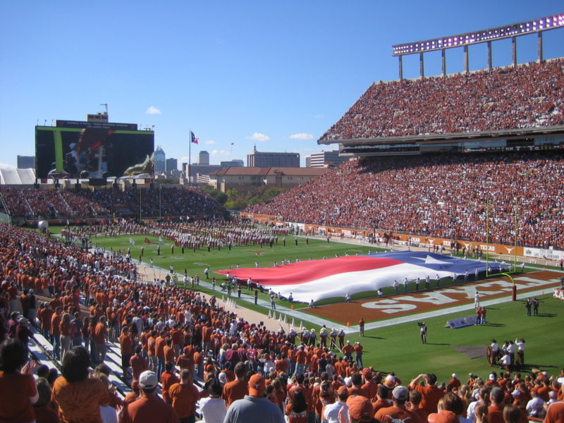 USA_UT Austin_Football game