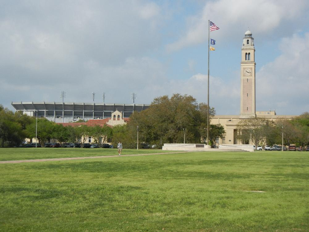 USA - LSU - Campus