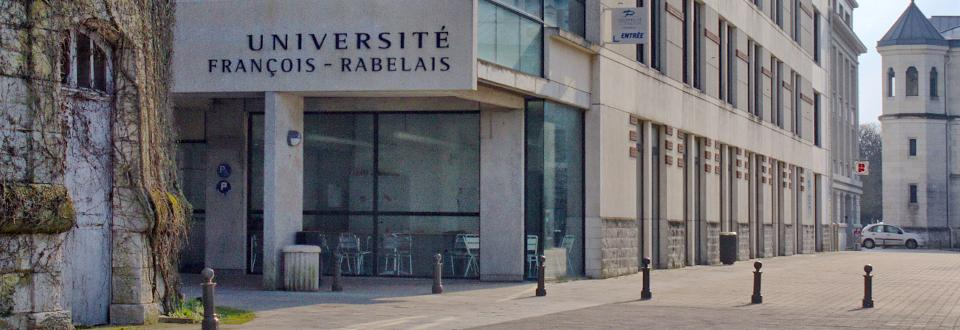 France - Universite Francois Rabelais de Tours - building