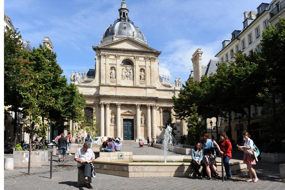 France - Universite Paris Sorbonne - campus