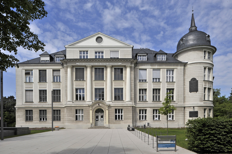 Germany - Freie Universitat Berlin - building