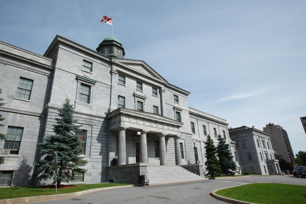 Canada - McGill University - building