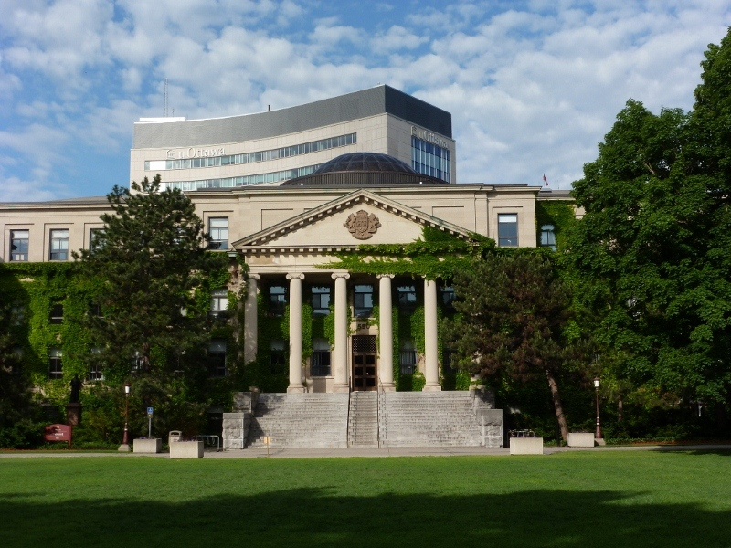 Canada - University of Ottawa - building