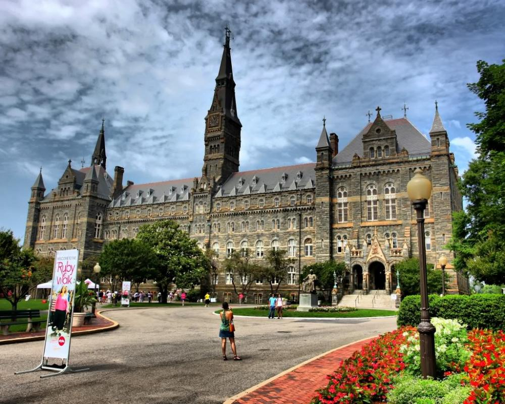 United States - Georgetown University - building