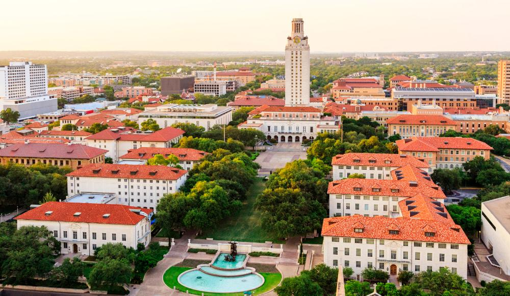 United States - University of Texas at Austin - aerial