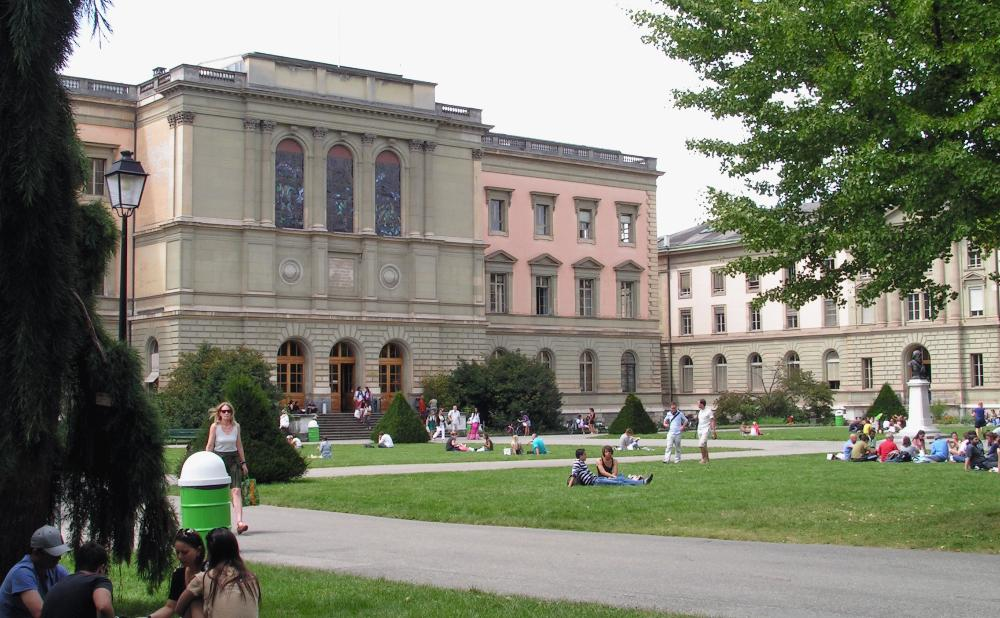 Switzerland - Universite de Geneve - campus 2