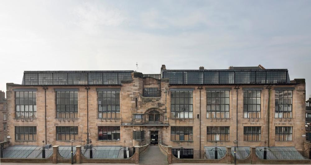 United Kingdom - Glasgow School of Art - building