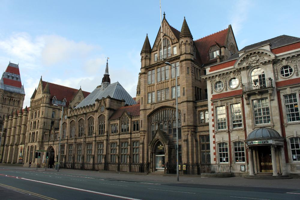 United Kingdom - University of Manchester - building