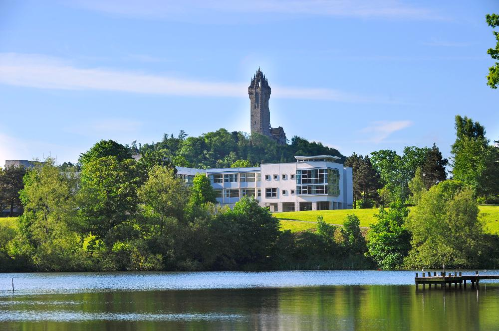 United Kingdom - University of Stirling - building