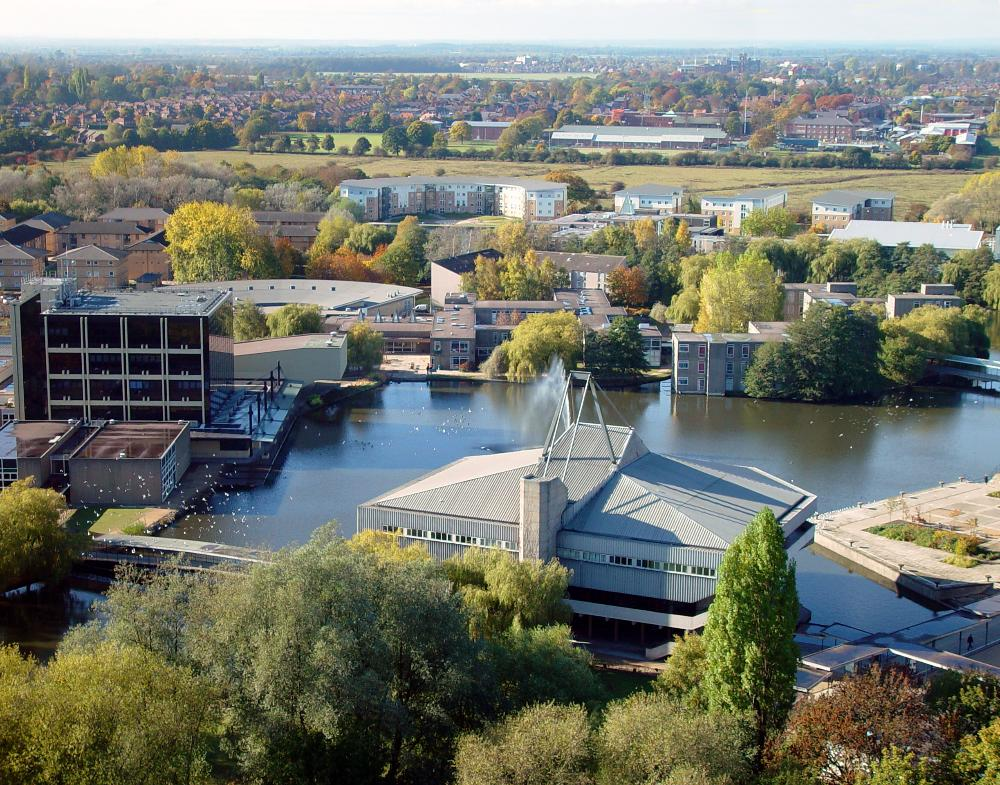 United Kingdom - University of York - aerial
